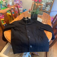 Hugo boss Jacket coat cashmere mint paid $1200 wore a few times North Vancouver, V7J 3M2