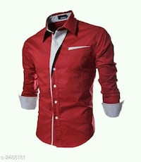 Party Wear Men's Cotton Solid Shirts Bagwara