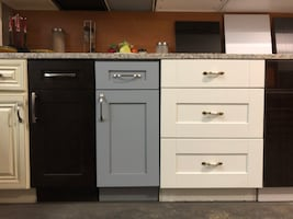 Kitchen cabinets from