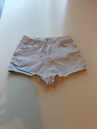 White High Waist Shorts S West Linn, 97068
