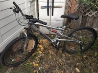 black and gray full-suspension bike New York, 10453