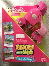 Barbie grow with me skates (New)  Springfield, 22153