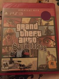 gta san andreas ps3 game Centreville, 20121