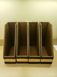 Magazine organizers, office, 4
