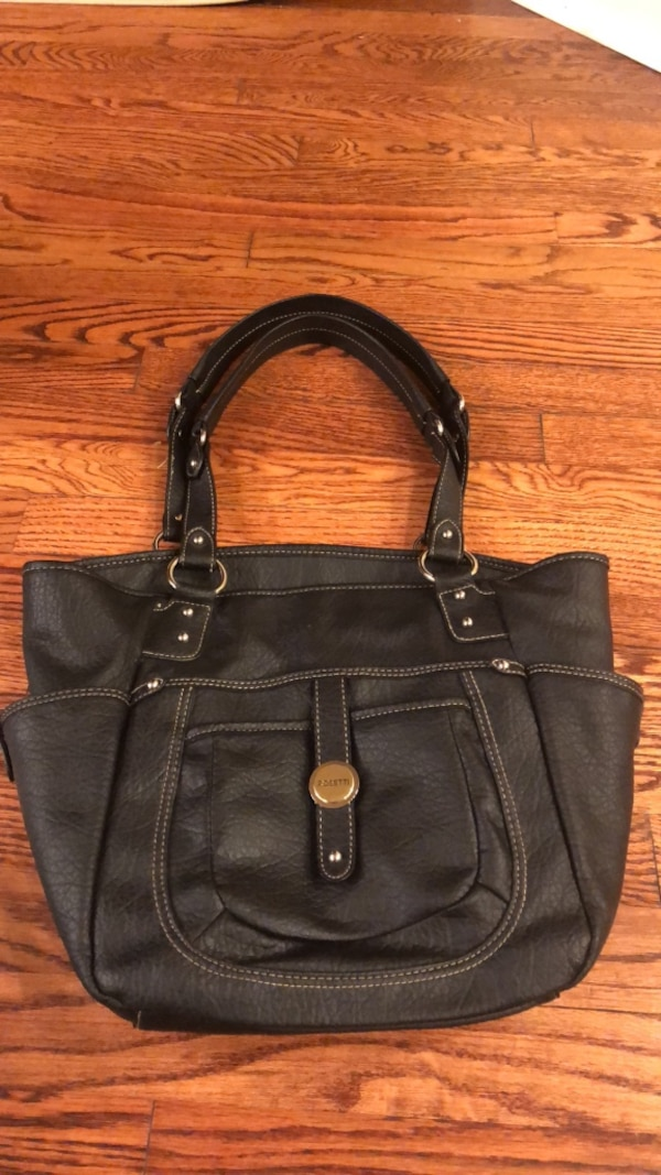 Rosetti Black Bag Polyvinyl