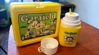 Vintage 1978 Garfield Lunch box with Thermos. Reynoldsburg, 43068