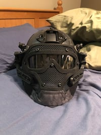Airsoft/paintball Full Cover Hemet and Mask
