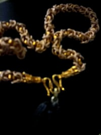 Selling 24K Gold Necklace With Buddha Pendant  Surrey
