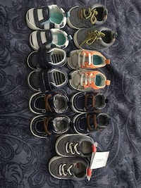 Baby boy assorted pairs of shoes, clothes and hats Lubbock, 79415