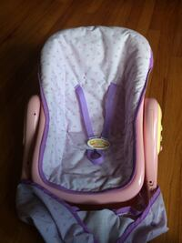 Baby doll carrier with sounds