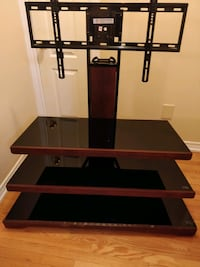 black and brown TV stand Toronto, M1X 1Z8