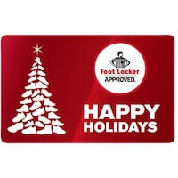 Foot Locker gift card has $25 on it  Thorold