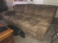 Dual Recliner Couch Sofa Spring Hill, 34609