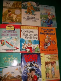Assorted young reader books Severn