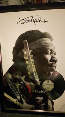 Jimmy hendrix picture and album