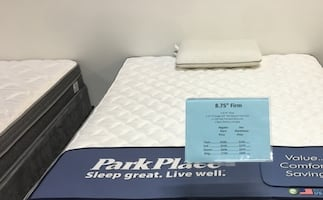 King Size Plush Firm Mattress Set Brand New Still in plastic