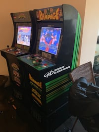 Rampage arcade game - with gauntlet, Joust, and defender, with Riser Fairfax, 22030
