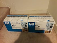 Two New 98A Printer Cartridges for HP Laserjet. Woodbridge, 22193