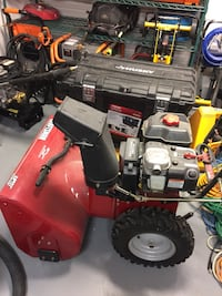 Big craftsmen snow blower snow thrower 25 mi