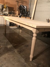 7 ft farmhouse table just in time 4 thanksgiving  You choose the color