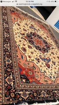 Hand made huge Persian   rug excellent condition Fairfax, 22033