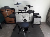 Alexis Drum Kit with amp and stool