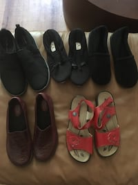 Euc shoe lot 6.5/7 Mission, V2V 1N3