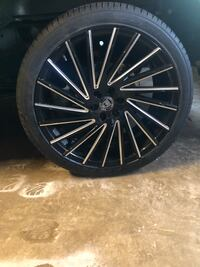 "24"" Lexani wheel and tire set. Fits Ford F-150 2016 and up $1800 OBO! Sterling, 20164"