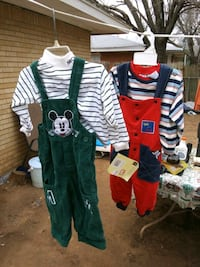 Bran new real disney mickey outfits 18m