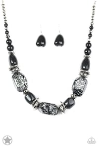 silver-colored necklace with earrings Hyattsville