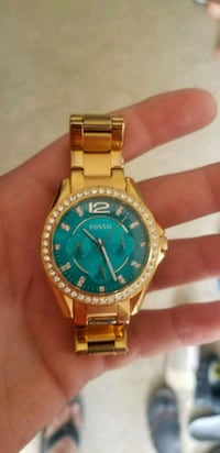 Rose gold Fossil watch Wilson, 27893