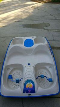 white and blue plastic paddle boat Spanish Fort, 36527