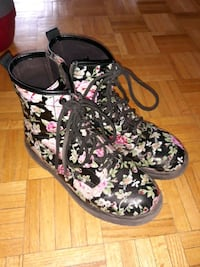 Flowered Boots Mississauga