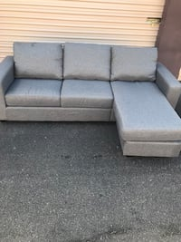 Small reversible chaise sectional  Virginia Beach, 23455