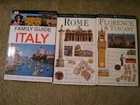 Travel books, italy, rome, florence, tuscany Reston, 20190