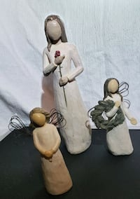 Willow creek figurine trio.  Like new. No box . Much loved  Centreville, 20120