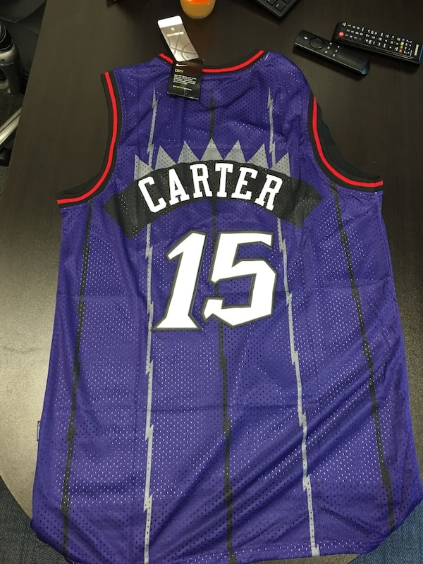 lowest price e943d 3e218 Vince Carter Jersey New With Tags $40