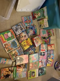 Girls books, movies, puzzles (everything included) Woodbridge, 22192