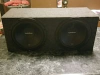 Rockford r2's 12 inch subs Lancaster, 43130