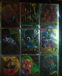 Marvel Comics game card collection Asheville, 28806