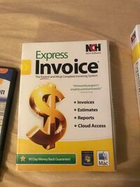 Express invoice never used Springfield, 22150