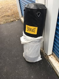 Everlast punching bag. Chicago, 60638