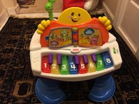 Fisher price baby grand piano  Manassas, 20110