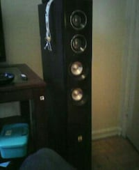 Two big threater speakers