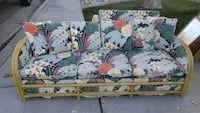 white and pink floral fabric sofa Palmdale, 93552