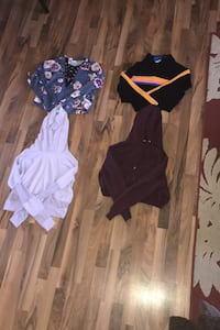 Four crop tops for sale Port Coquitlam, V3B 4W7