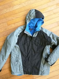 Heavy winter coat Lands End for boys. Size 12 Fairfax