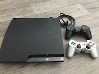PS3 with 10+games and 2 controlers 2054 mi