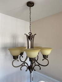 Home Light Fixtures - Two Chandeliers and other ceiling lights