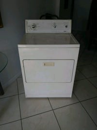 white front load clothes dryer Miramar, 33023